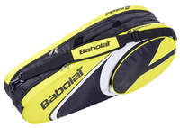 Babolat Club Line Racketholder X6 geel tennistas