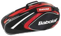 Babolat Club Line Racketholder X6 Red tennistas