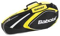 Babolat Club Line Racketholder X3 Yellow tennistas