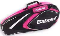 Babolat Club Line Racketholder X3 Pink tennistas
